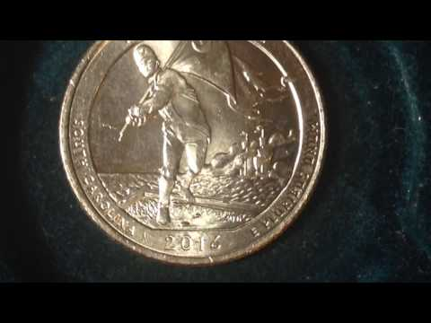 U.S. Quarter: Fort Moultire- 2016 Coin