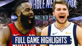 Houston Rockets Vs Dallas Mavericks - Full Game Highlights | 2019-20 Nba Schedule