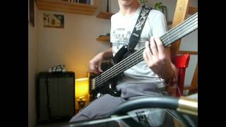 PORCUPINE TREE - MESMER I [FRETLESS BASS COVER]