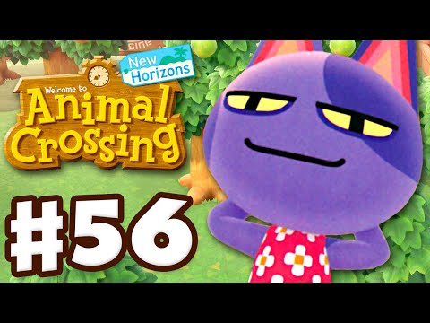 Meeting Bob! Moving My Home! - Animal Crossing: New Horizons - Gameplay Part 56