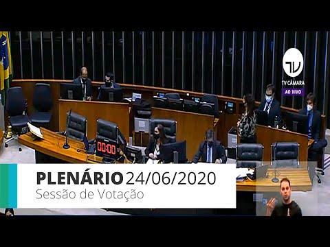 plenário---destaques-ao-projeto-que-altera-o-código-de-trânsito-brasileiro---24/06/2020---11:22