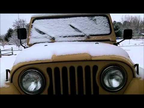 Jeep CJ7 Cold Startup