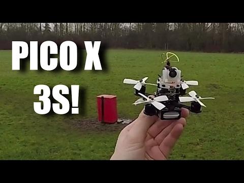 88mm Micro on 3s! - Pico X