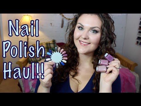Nail Polish Haul!! OPI, China Glaze, Essie and MORE!!
