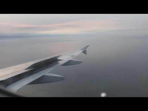 LATAM Argentina A320-233 landing in Lima Jorge Chavez  Intl Airport
