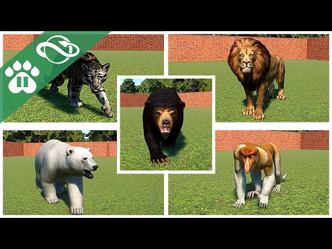 Every Animal in Planet Zoo! | ALL 103 ANIMALS! | Males + Females! | |