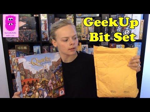 Unbox Deluxe Tiles - GeekUp Bit Set: Quacks Of Quedlinburg