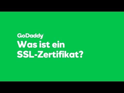 Видео SSL Zertifikat