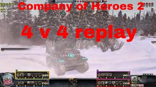 Company of Heroes 2 4v4 replay