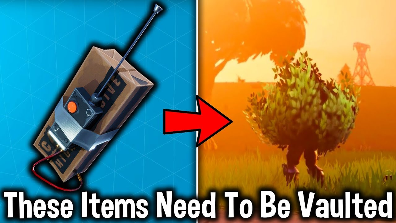 5 Weapons That Need To Be Vaulted In Fortnite Fortnite Battle