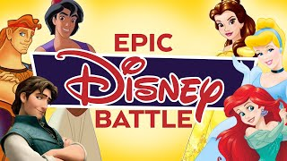 Repeat youtube video Princesses vs Princes Epic Disney Battle - Peter Hollens