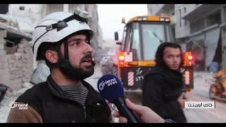 النظام يستهدف الأحياء السكنية في مدينة أريحا بإدلب