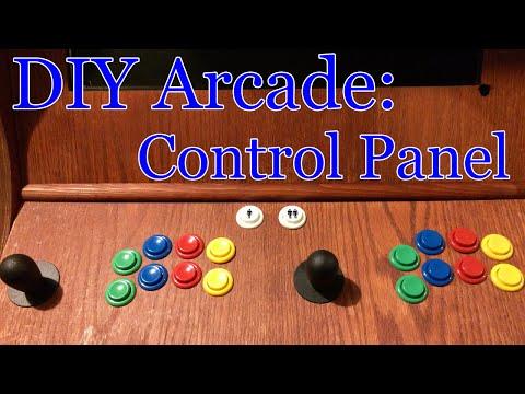 DIY Arcade Build Part 1 | Control Panel