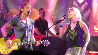 KEITH URBAN CARRIE UNDERWOOD STOP DRAGGING MY HEART AROUND MELBOURNE 08 / 12 / 16