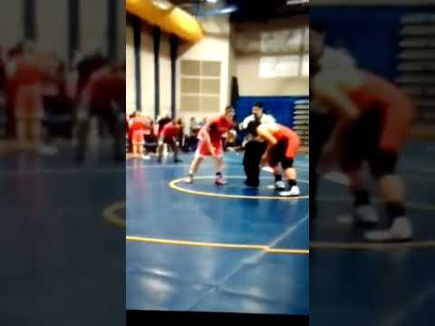 Justis Laulu wrestling middle school 8th grade for falcon middle school 2018