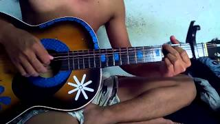 lá diêu bông-guitar cover