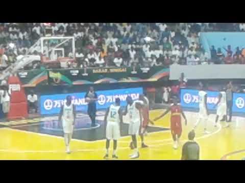 Afro basket Sénégal vs Mozambique