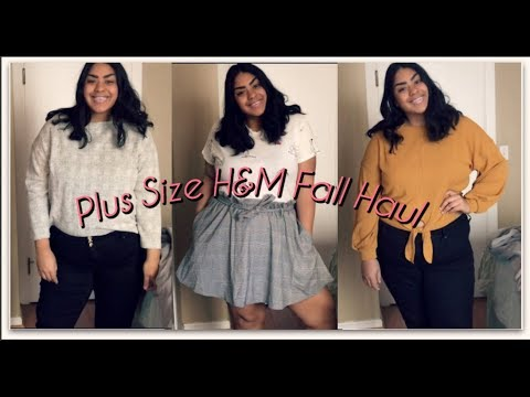 Plus Size Fashion- Fall/Autumn H&M Try On Haul