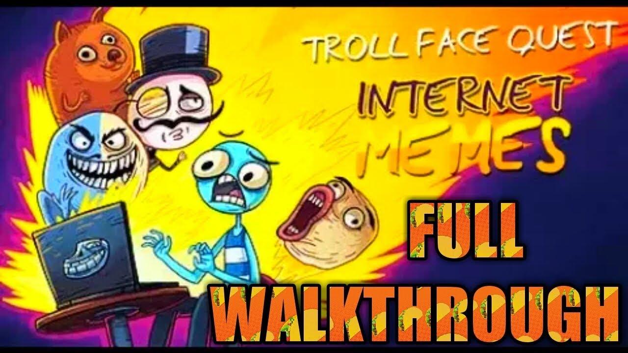 Troll Face Quest Internet Memes *FULL WALKTHROUGH* || [LV 1- LV 35]