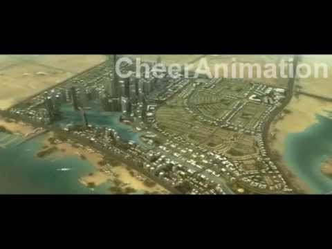 Jeddah urban plan 3d animation  www.cheer3d.com