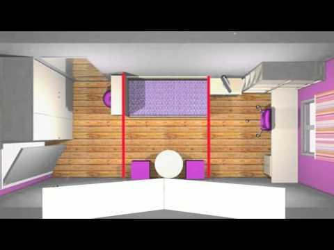 How To Arrange Bedroom Furniture In A Rectangular Room Youtube