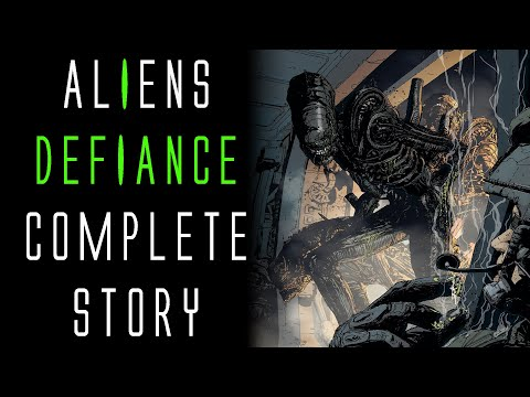 Aliens Defiance Complete Story (Audio Comic)