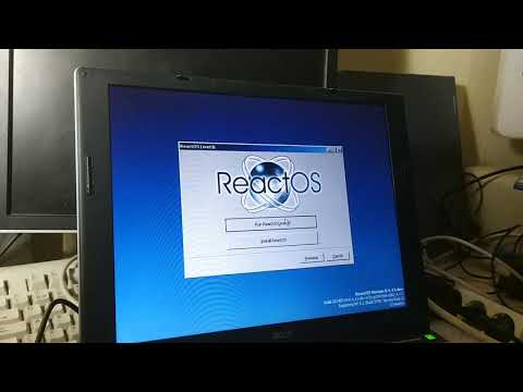 ReactOS LiveCD Accessing An USB Storage Drive (EHCI Port)