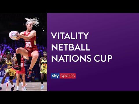 LIVE NETBALL! England Vs Jamaica