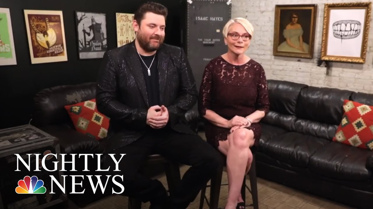Country Star Chris Young Honors The Teacher Who Supported His Music | NBC Nightly News
