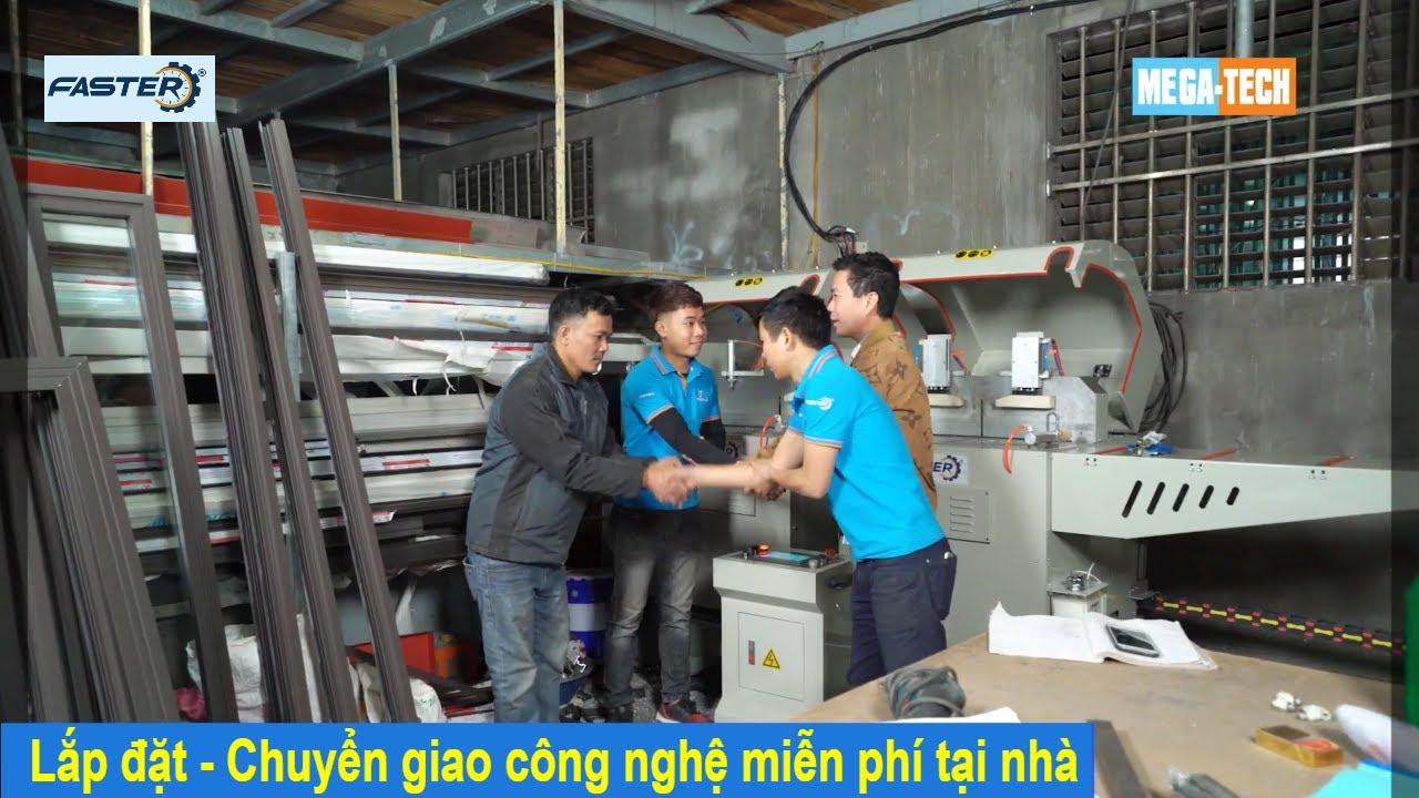 Quy trình lắp đặt – Chuyển giao công nghệ máy sản xuất cửa nhôm    Genma