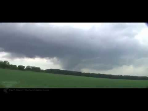Large Wedge Tornado near Flint, Michigan area on May 28th 2013
