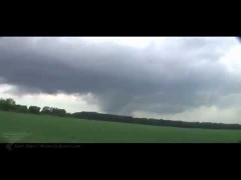 Large Wedge Tornado near Flint, Michigan area on May 28th 2013