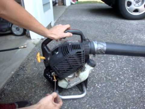 How To Tune A 2 Stroke Engine Trimmer Leaf Blower Saw Etc