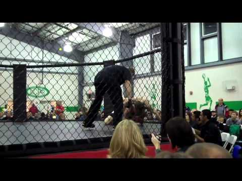 Mike LeVasseur Debut MMA Fight vs Anthony Monteleon (Montelone) 12-10-2011 Fight Night TV Louisa, VA