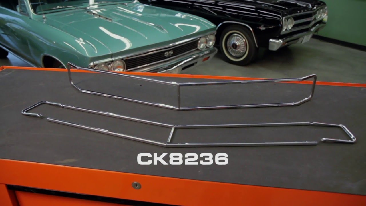 opgi product spotlight 1970 chevelle el camino grille molding kit youtube. Black Bedroom Furniture Sets. Home Design Ideas