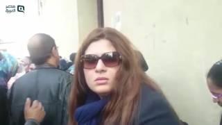 مصر العربية | مرفت أمين ودلال عبد العزيز ورجاء الجداوي في جنازة كريمة مختار