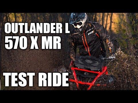 TEST RIDE: 2016 Can-Am Outlander L 570 X Mr