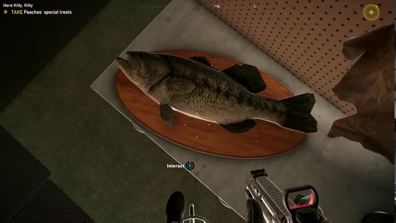 Far Cry 5 singing fish