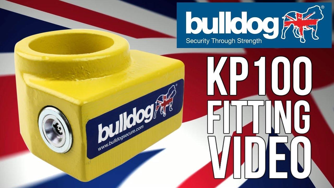 Bulldog KP100 King Pin Lock 5yr Manufacturer Guarantee