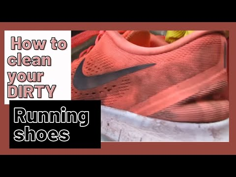 🏃‍♀️How to Clean your Dirty Running Shoes 👟