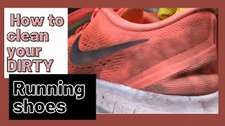🏃♀️How to Clean your Dirty Running Shoes 👟
