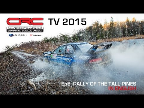 CRC TV 2015: Rally of the Tall Pines  ENGLISH