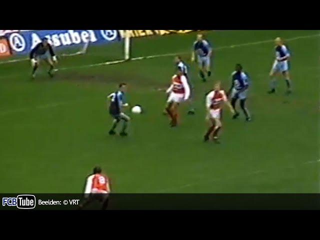 1988-1989 - Jupiler Pro League - 12. Club Brugge - SV Waregem 2-3