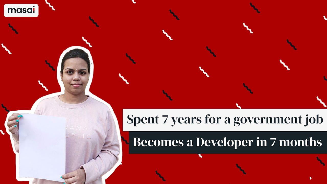 7 Months Masai Effect | Journey of becoming a Software Developer