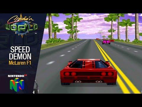 Cruis´n World - Speed Demon (McLaren F1) Florida - N64
