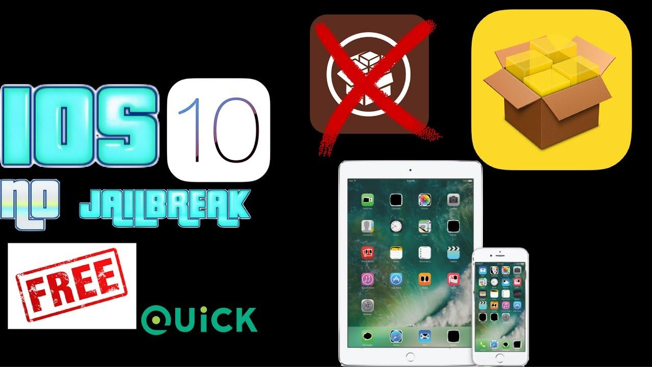 Cydia alternative ( no jailbreak) IOS 10 - YouTube