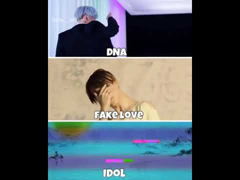 DNA , Fake Love , Or IDOL ?
