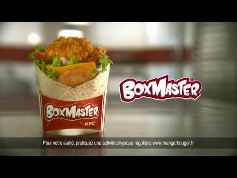 Publicité française pour le Boxmaster de KFC