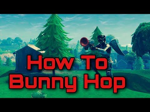 How To Bunny Hop Like TFUE!   Tips and Tricks! (Fortnite Battle Royale)