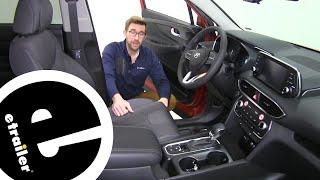etrailer | WeatherTech Front Floor Mats Review  2020 Hyundai Santa Fe
